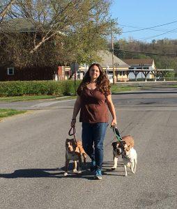 Glens Falls dog trainer Katie